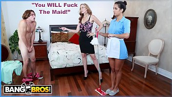 bangbros - milf julia ann gets her step son to fuck the latin maid abby lee brazil