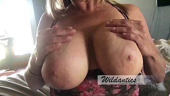 big titty milf gets titty fucked and creamed