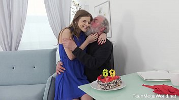 old-n-young.com - sarah kay - happy birthday and happy orgasm