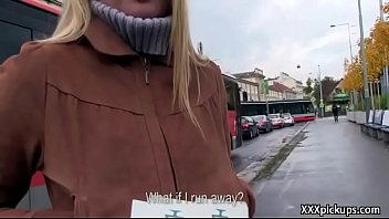 public pickups - amateur euro slut seduces tourist for money 30