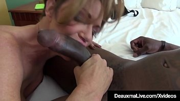 busty cougar deauxma bangs a big black cock